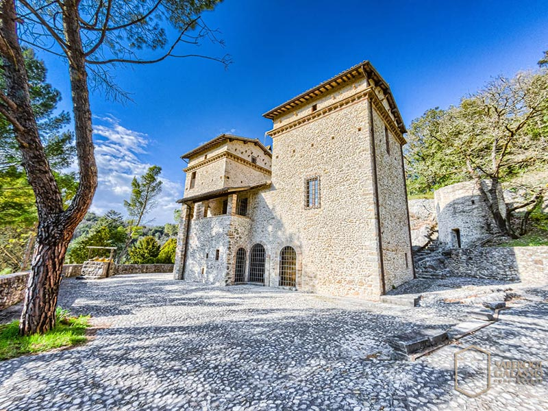 Fortress with Pool Spoleto